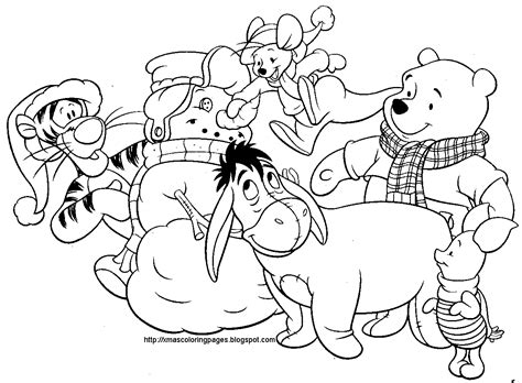 coloring pages of disney christmas disney christmas coloring pages free large images