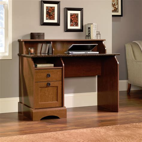Sauder Graham Hill Computer Desk With Hutch Autumn Maple New Sauder Graham Hill Hutch Style Computer Desk Autumn Maple Finish Ebay