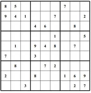 printable sudoku and crossword puzzles easy puzzle free sudoku puzzles page 2