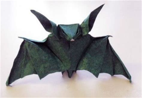 Origami Bat - papercraftsquare new paper craft step by step