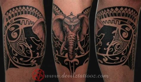 polynesian elephant tattoo pin polynesian on on