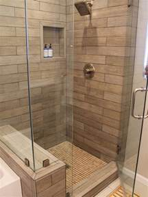 Ct Shower And Bath faux wood tile houzz