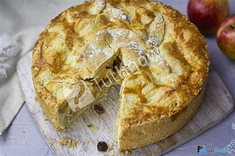 Шоколадный торт с яблоками рецепт с фото