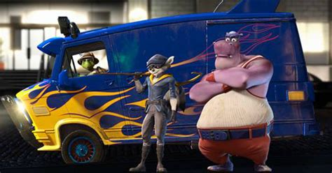 Sly cooper movie trailer with reaction from our own slydante the