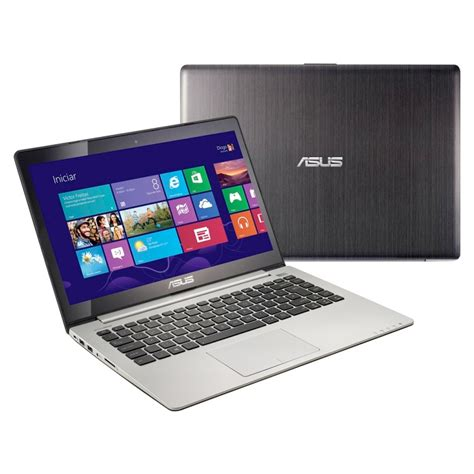 Laptop Asus Vivo Book S400 notebook asus vivobook s400 intel i3 4gb de mem 243 ria hd de 500gb leitor de cart 227 o hdmi