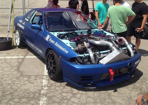 nissan ford nissan skyline with a ford diesel v8 engineswapdepot com
