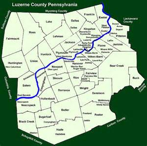 map of luzerne county pa townships in luzerne county pennsylvania