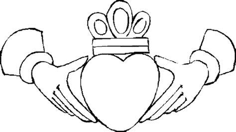 dibujos para colorear de coronas colorear corazon y corona