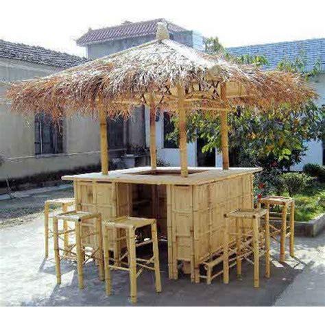 Tiki Bar Gazebo Bamboo Tiki Hut Bar Bamboo Hut Bars Tiki Bars Gazebo