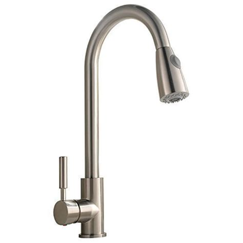 stainless steel pull out kitchen faucet best commercial stainless steel single handle pull