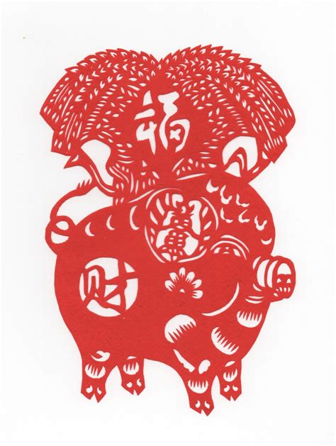 new year horoscope pig papercut year of the pig new year