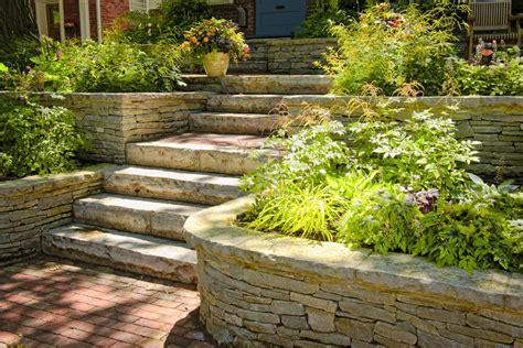 Outdoor Garden Landscaping Step Ideas Design Garden Step Ideas