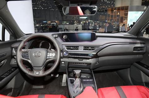 lexus sport car interior 2019 lexus ux brings the spindle to the subcompact