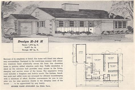 Vintage Ranch House Plans by Vintage House Plans 14h Antique Alter Ego
