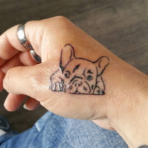 french tattoo designs best 25 bulldog ideas on