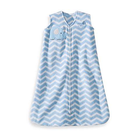 Baby Sleeping Bag Blanket Beyond Elephant halo 174 sleepsack 174 wearable blanket in blue zigzag elephant bed bath beyond