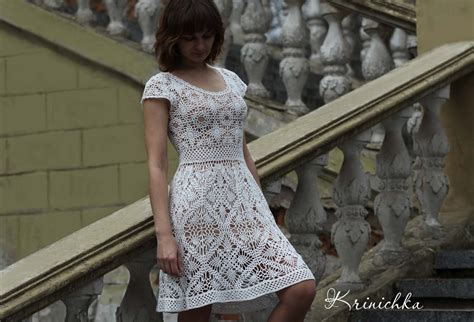clothes pattern in english crochet dress pattern boho crochet dress pattern chart and