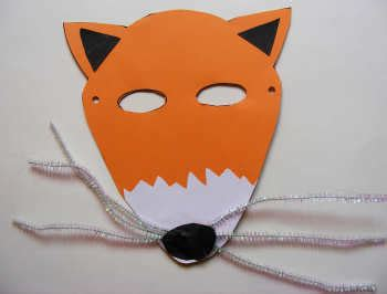 fantastic mr fox mask template fantastic mr fox mask
