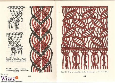 Macrame Knots - tutorial macrame bracelet pattern pdf easy navy blue