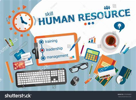 poster design resources human resource design concept typographic poster stock
