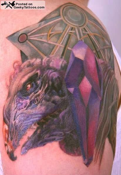 dark crystal tattoo geeky tattoos
