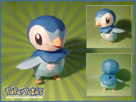 piplup papercraft by lyrin 83 on deviantart