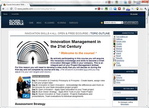 themes for moodle 1 9 dark blue theme now for moodle 1 9 and 2 0 moodle news