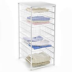 home organization on container store mesh