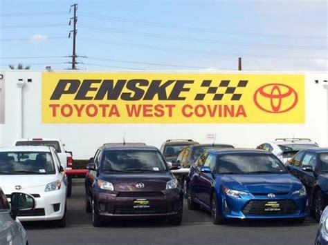 Toyota Covina Penske Toyota Of West Covina Car Dealership In West Covina