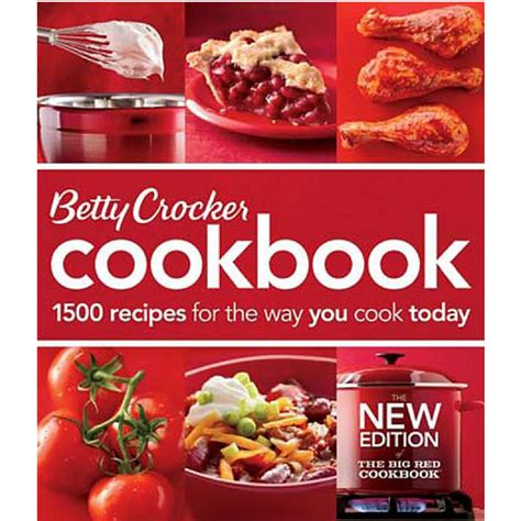 recipe cookbooks betty crocker cookbook 1500 recipes