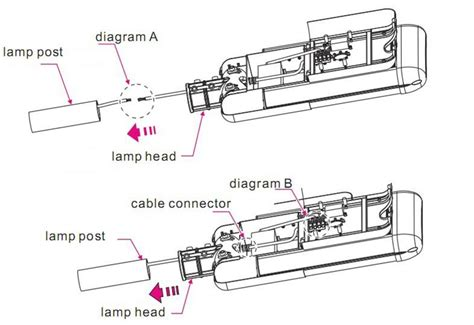 outdoor l post wiring diagram 28 images photocell