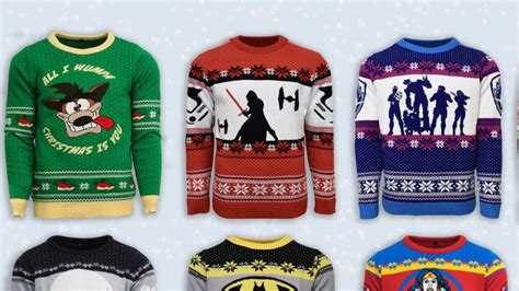fortnite jumper numskull unveils new designs for their gaming jumpers this