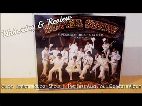 Cd Junior Show 3 Asia Tour junior show 1 the asia tour concert album cd unboxing review