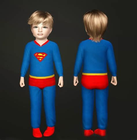 Sweater Hoodie Anak Superman Station Apparel superman sleeper nygirl sims the sims 3 clothing infants and toddlers