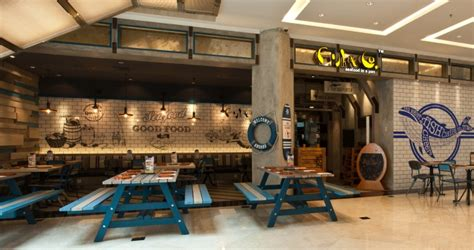 design interior cafe jakarta fish restaurant design