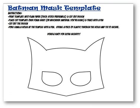 batman mask template felt masks pinterest batman