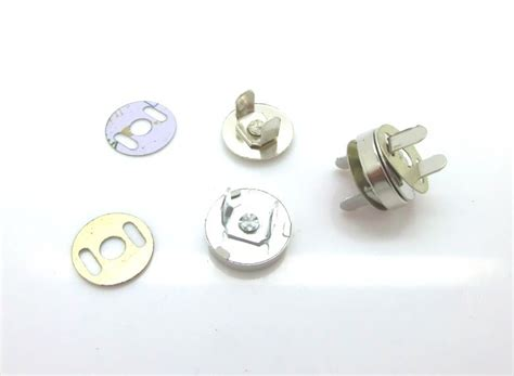 Magnetic Buttons Kancing Magnet Silver free shipping 50 sets silver tone buttons magnetic purse snap clasps closure for purse handbag