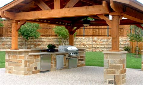 outdoor kitchen roof ideas home decoration plan