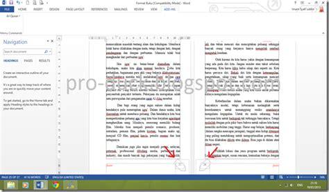 Satu Lembar Multiplek cara memberi dua halaman pada satu lembar di ms word pro duck