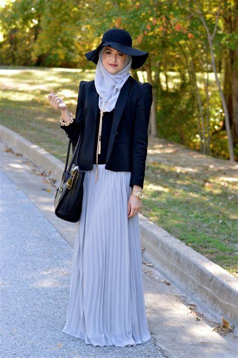 Blouse Muslim Lina pastel maxi skirt and ideas
