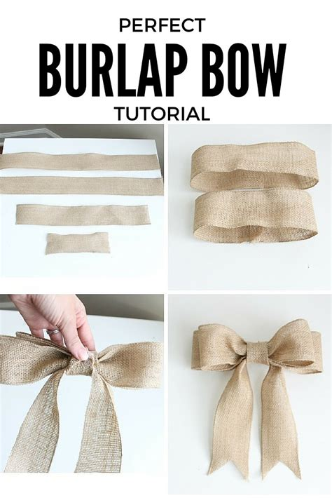 diy decorations bows 25 ways how burlap decorations can beautify your home with