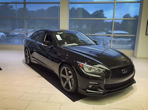 Blacked Out Q50 At Sheehy Infiniti Of Annapolis Stillen