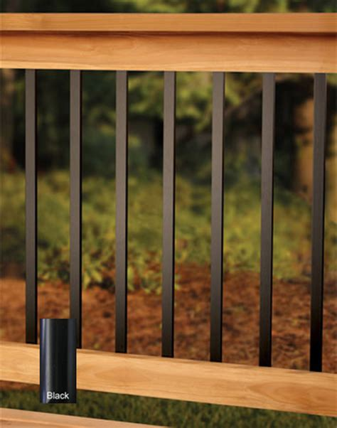Metal Deck Spindles Deckorators 32 Quot Traditional Deck Baluster Black