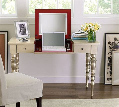 lean to desk for sale shoestring sophistication pottery barn desk