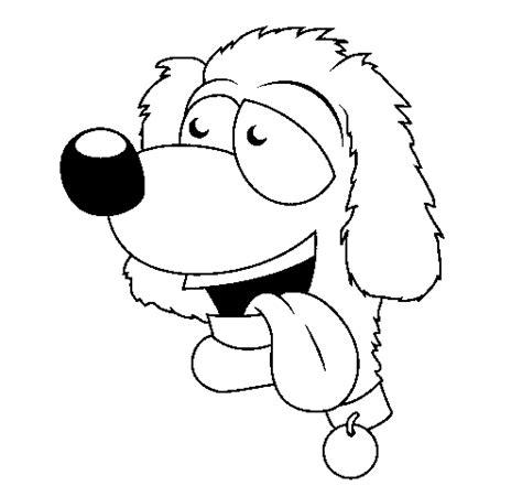 imagenes de animales sacando la lengua dibujo de perro con la lengua fuera ii para colorear