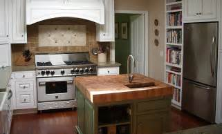 Kitchen Island Countertop Oak Kitchens With White Countertops Images