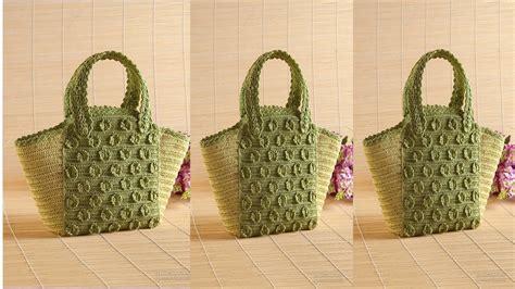 como hacer carteras tejidas a crochet modelos en carteras tejidas a crochet t2016 youtube