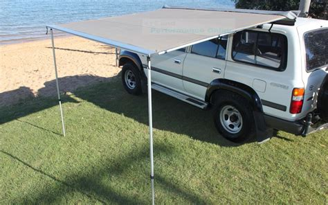 4x4 side awning new 2 5x3 1m cool flo 4x4 roof side awning pullout ripstop