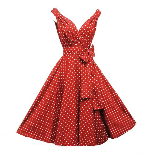 1950s polka dot swing dress new quot rosa rosa quot vintage 1950s style red polka dot party prom