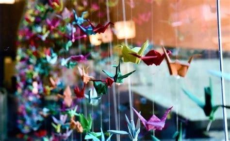 Beautiful Origami Paper - beautiful colours origami paper cranes